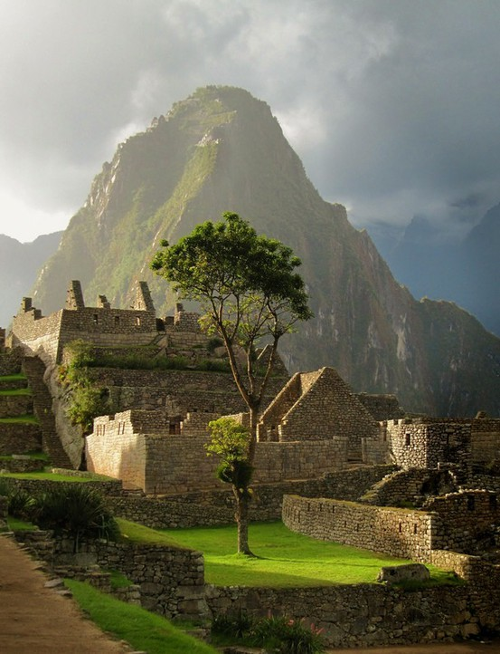Late Afternoon Sun, Machu Picchu, Peru