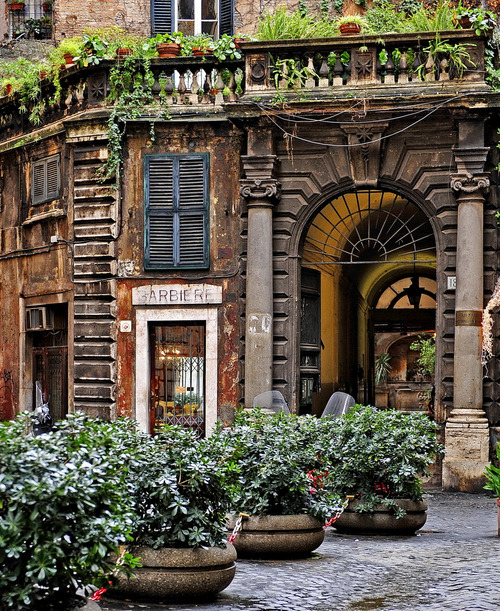 Barber Shop, Rome, Italy