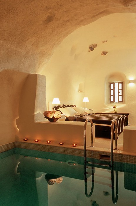 Bedroom Spa, Santorini, Greece