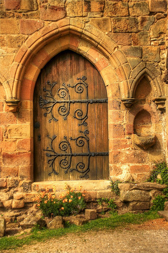 Wooden Entrance, Bolton Abbey, England