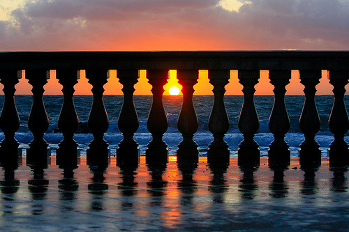 Geometric Sunset, Livorno, Italy