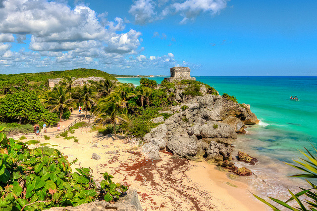 by mikerhicks on Flickr.Tulum Mayan Ruins - Yucatan Peninsula, Mexico.