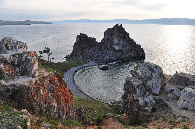by dsychev on Flickr.Olkhon Island - Lake Baikal, Russia.