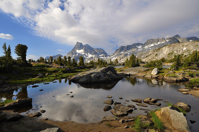 by SteveD. on Flickr.Island Pass Area, Ansel Adams Wilderness - California, USA.