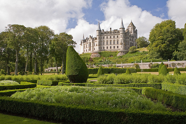 by Iconoclast! on Flickr.Dunrobin Castle is a stately home in Sutherland, in the Highland area of Scotland.