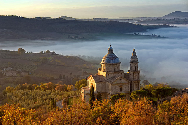 by Giuseppe Toscano on Flickr.The Sanctuary of San Biagio in Montepulciano - Tuscany, Italy.