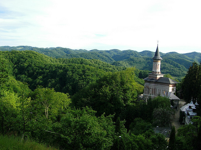 Manastirea Rohia  on Flickr.Rohia Monastery in northern Transylvania, 30 south from my hometown. Photo done by myself in 2008 :)