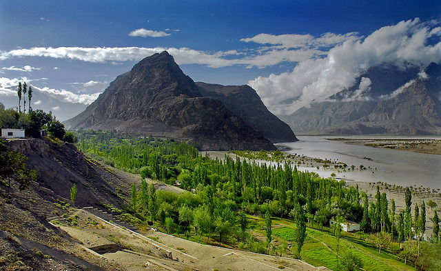 by PHOTOROTA on Flickr.Stunning Skardu Valley in northern Pakistan.