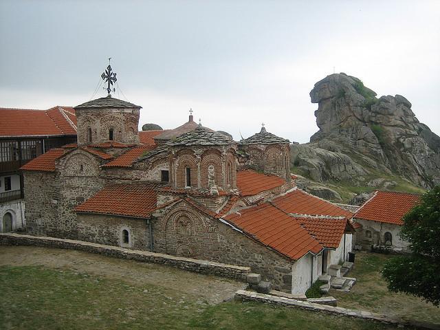 by Graham Spicer on Flickr.Treskavec monastery, near Prilep in Macedonia.