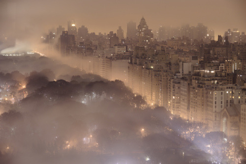 Foggy Night, New York City
