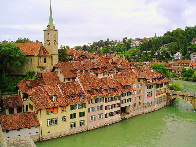 by Fr Antunes on Flickr.City view in Bern, the capital of Switzerland.