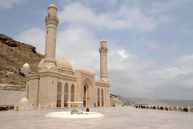 by FO Travel on Flickr.Bibiheybat Mosque in Baku, the capital of Azerbaijan.