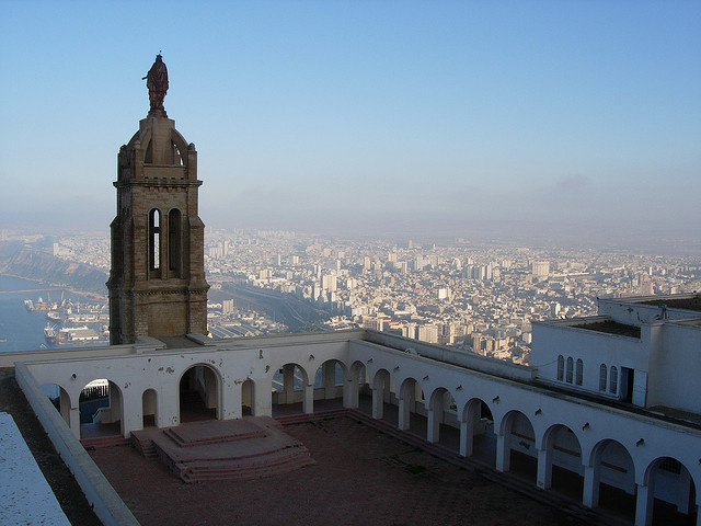 by Roderick Parks on Flickr.Santa Cruz Basilica above the city of Oran in Algeria.