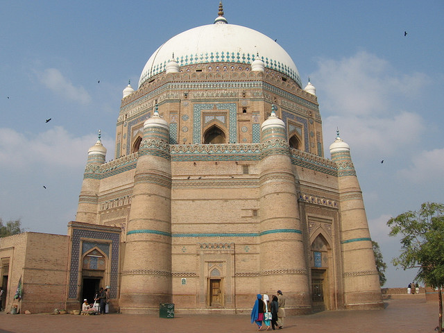 Mausoleum of shah Rukn-e-Alam in Multan, Pakistan