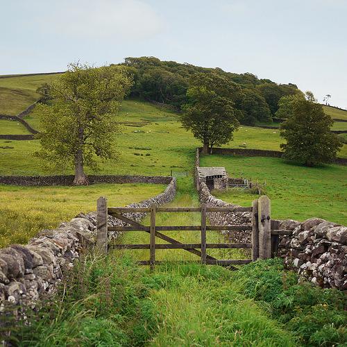 Stone Fence Gate, Settle, England