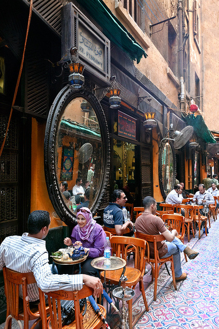 El Fishawy Abwa dining place in Cairo, Egypt