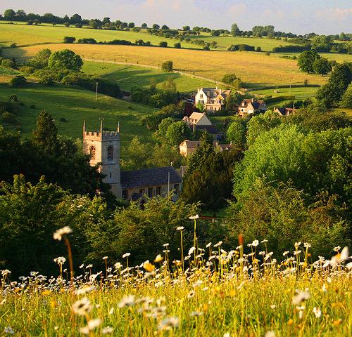 Summer Day, Naughton, England