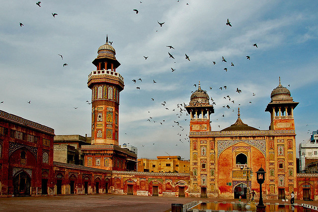Wazir Khan Mosque in Lahore, Pakistan