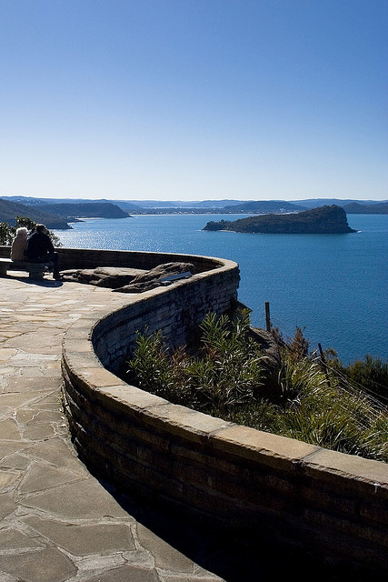 West Head Lookout in Ku-ring-gai Chase National Park, Australia