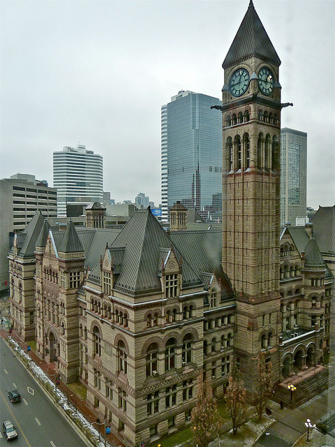Old City Hall in Toronto, Canada