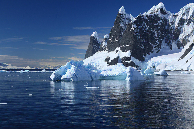 Entrance to Lemaire Channel, Antarctica