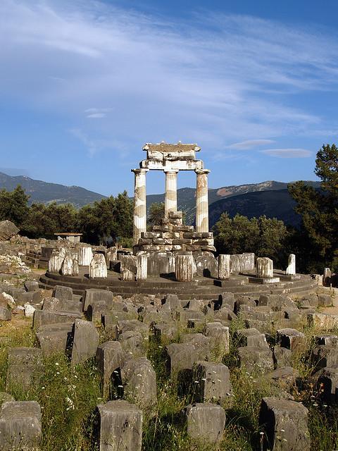 Sanctuary of Athena Pronaia, Delphi, Greece