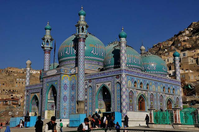 Sakhi Shrine in Kabul, Afghanistan