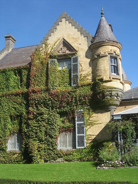 Overnewton, a Scottish Baronial Castle in Keilor, Melbourne, Australia