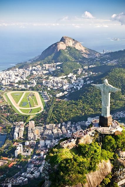 Christ the Redeemer blessing the city, Rio de Janeiro, Brazil