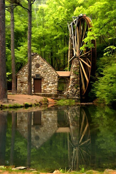 Berrys Mill, Rome, Georgia
