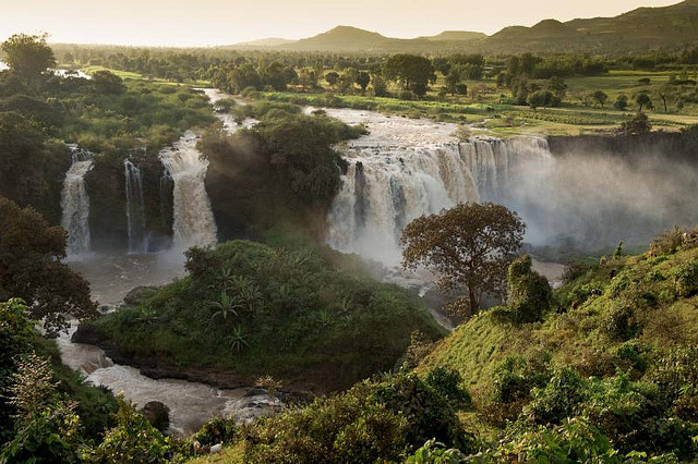 Blue Nile Falls in North Ethiopia