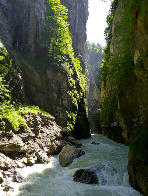 River Canyon, Meiringen, Switzerland