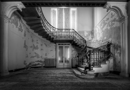Staircase, Villa Margherita, Italy