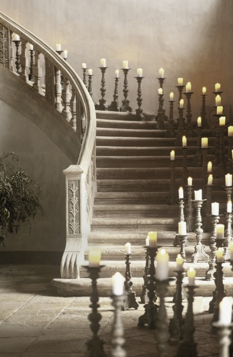 Candle Staircase, Haute Provence, France