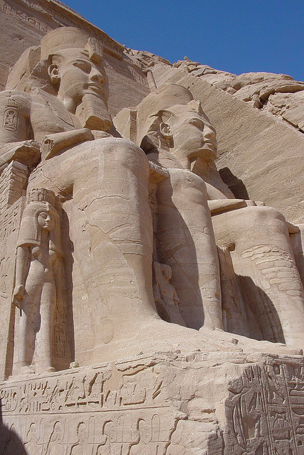 The Temple of Ramesses II, Abu Simbel, Egypt