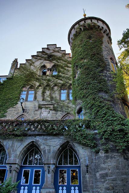 Schloss Landsberg near Meiningen in Thuringia, Germany