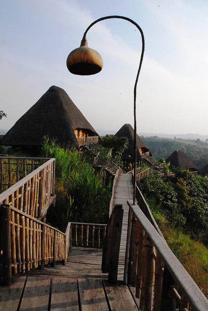 Kyaninga Lodge in Kibale Forest, Uganda