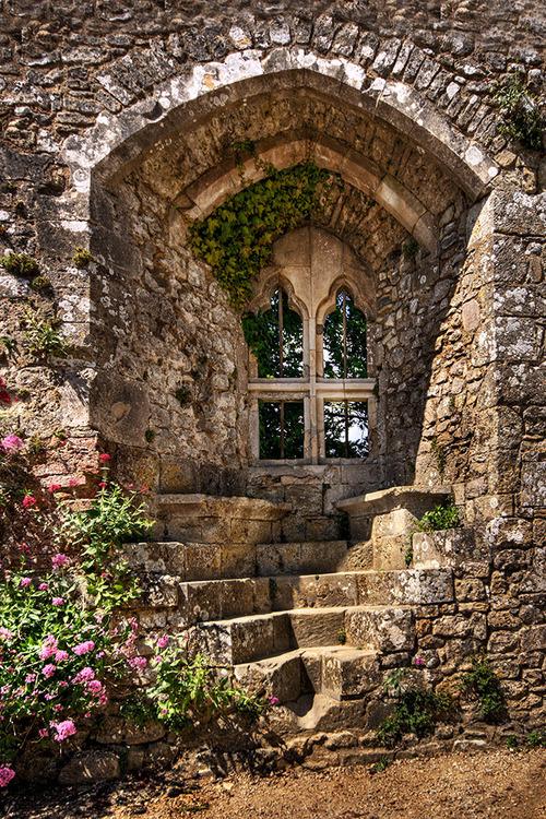 Isabella's Window, Carisbrooke Castle, Isle of Wight