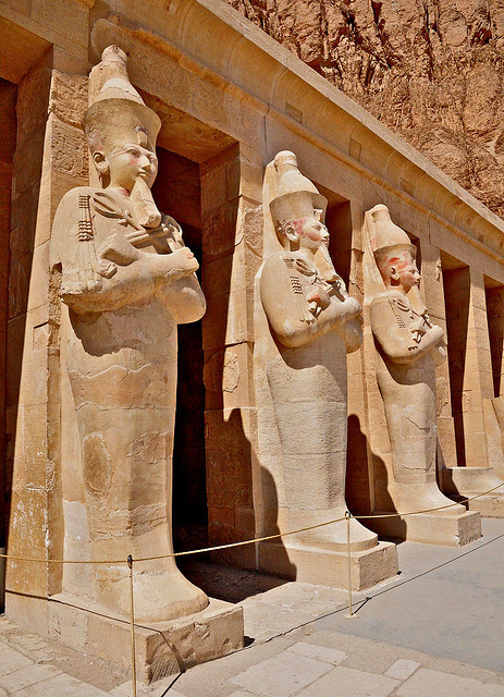 The mortuary of Queen Hatshepsut, Valley of the Queens, Egypt