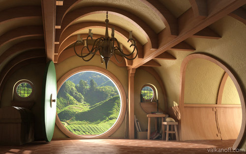 Interior, Hobbit House