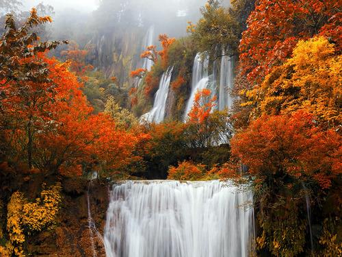 Cascading Waterfalls, Thailand