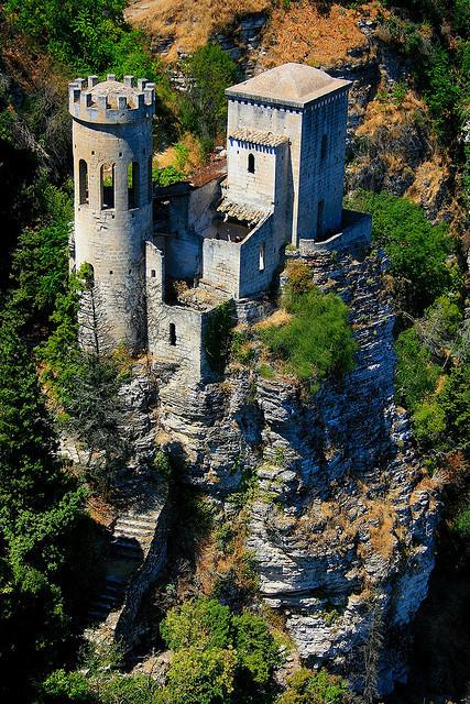 Torretta Pepoli in Erice, Sicily, Italy