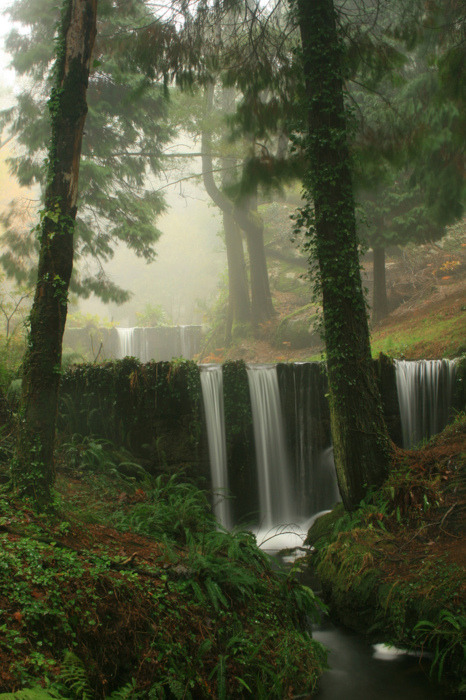Double Waterfall, Basque Country, Spain