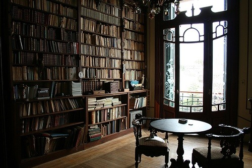 Reading Room, Cambridge University, England