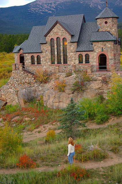 The Chapel on the Rock in St. Malo, Colorado, USA