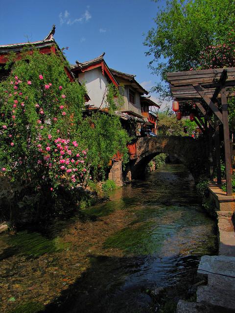 Lijiang Old City in Yunnan Province, China