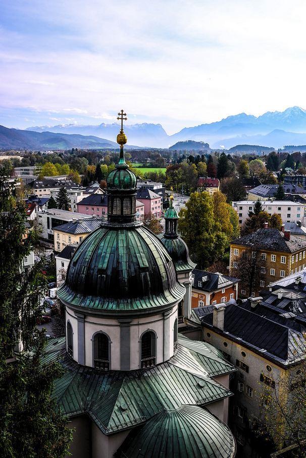 """""""View over Salzburg / Austria ."""""""