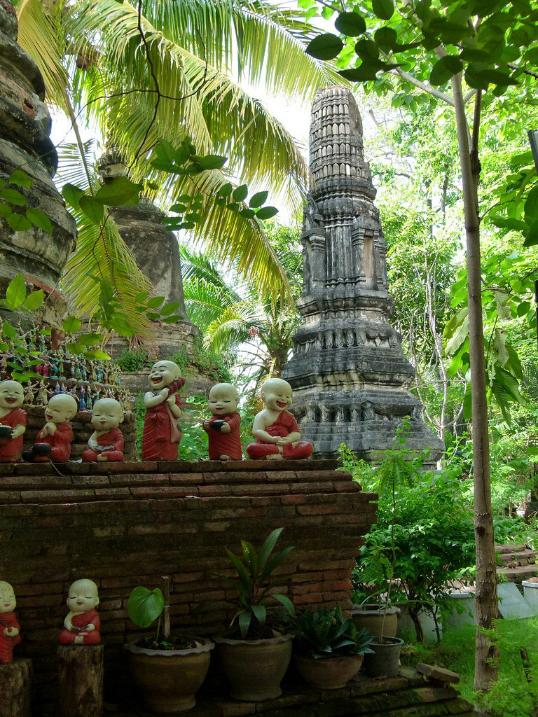 Wat Phut Thai Sawan in Ayutthaya / Thailand